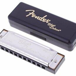 Губные гармошки - Губная гармошка диатоническая Fender Blues Deluxe A, 0