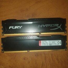 Модули памяти - Оперативная память HyperX Fury DDR3 2x4Gb, 0