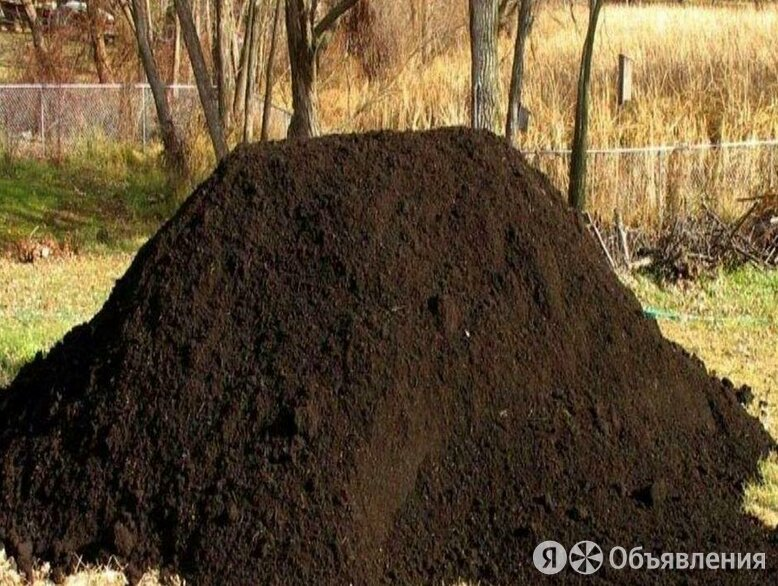 Чернозем по цене 1350₽ - Субстраты, грунты, мульча, фото 0