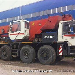 Спецтехника и навесное оборудование - Автокран Terex bendini 680 att (60 тонн), 0