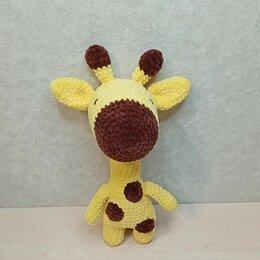 Мягкие игрушки - Плюшевый жираф крючком, 0