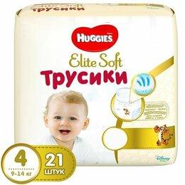 Подгузники - HUGGIES Elite Soft Трусики 4 9-14 кг, 0