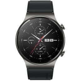 Умные часы и браслеты - Смарт-часы Huawei Watch GT 2 Pro (фторэластомер, VID-B19, черная ночь), 0
