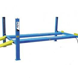 Подъемник и комплектующие - Подъемник четырехстоечный 5,5 тонны PEAK KHL-5500, электрогидравлический, для сл, 0