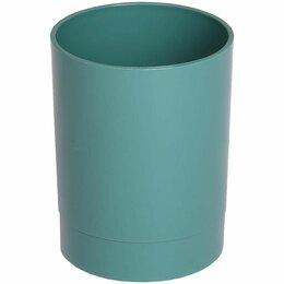 Бокалы и стаканы - Стакан  д/ручек Стамм Офис. NY  пластик, круглый, зеленый (24) *, 0