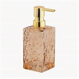 Мыльницы, стаканы и дозаторы - Дозатор для жидкого мыла Jack-stone, стекло 75192 Master House, 0