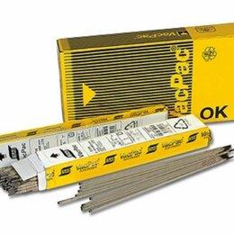 Электроды, проволока, прутки - 🔥Электроды ок 46.00 4х450 мм (6,6кг) esab, 0