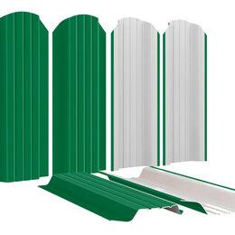 Заборы, ворота и элементы - Штакетник для забора Широкий 115мм RAL6029 Зеленая мята высота 1.25 метра, 0
