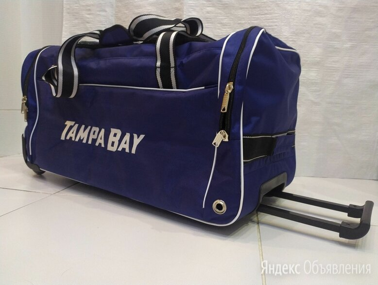 Баул хоккейный Tampa Bay по цене 3950₽ - Аксессуары, фото 0
