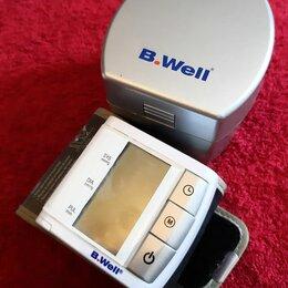 Устройства, приборы и аксессуары для здоровья - Тонометр на запястье B.Well, в отличном состоянии, 0