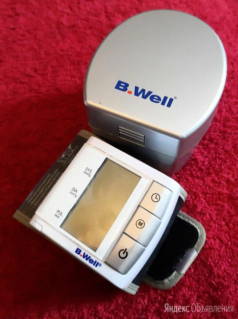 Тонометр на запястье B.Well, в отличном состоянии по цене 1200₽ - Устройства, приборы и аксессуары для здоровья, фото 0