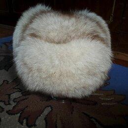 Головные уборы - Песцовая шапка-ушанка, 0