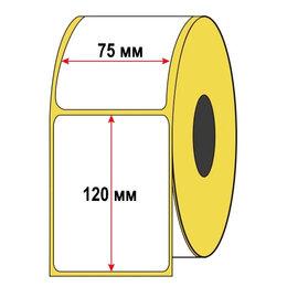 Расходные материалы - Термоэтикетка 75х120 300шт для Озон, 0