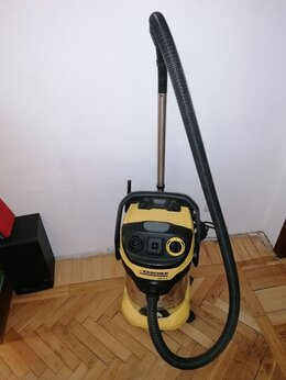 Профессиональные пылесосы - Промышленный пылесос Karcher WD 6P, 0