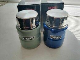 Термосы и термокружки - Термос для еды Thermos серии King 470 мл с ложкой , 0