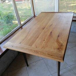 Столы и столики - Деревянный стол из щита , 0