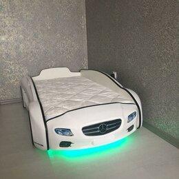 Кроватки - Детская кровать машина, 0