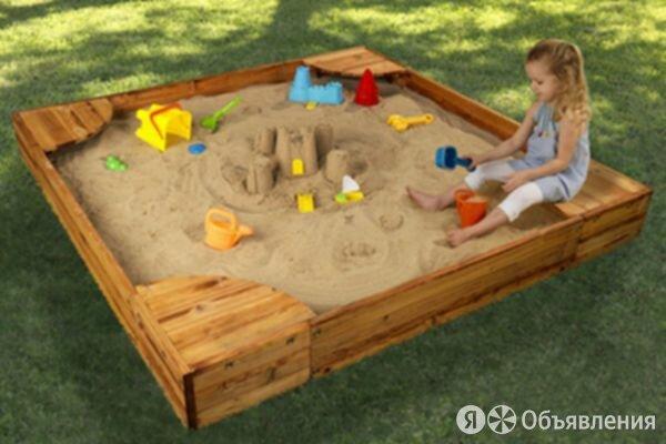 Кварцевый песок ЭЧП сорт П-03.4 по цене 255₽ - Строительные смеси и сыпучие материалы, фото 0