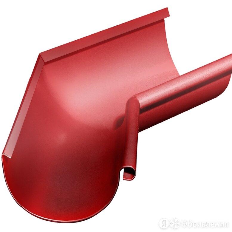 Угол желоба внутренний 135 гр Grand Line 125 мм RAL 3011 коричнево-красный по цене 1834₽ - Уголки, кронштейны, держатели, фото 0