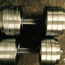 Аксессуары для силовых тренировок - 2х23.5кг. новые гантели, 0