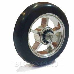 Лыжероллеры и ботинки - Ролик коньковый каучук 100 х 24 мм, 0