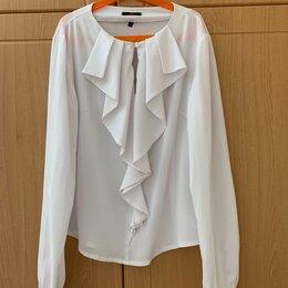 Блузки и кофточки - Белая блузка женская business line, размер xs-a, 42-44, 0