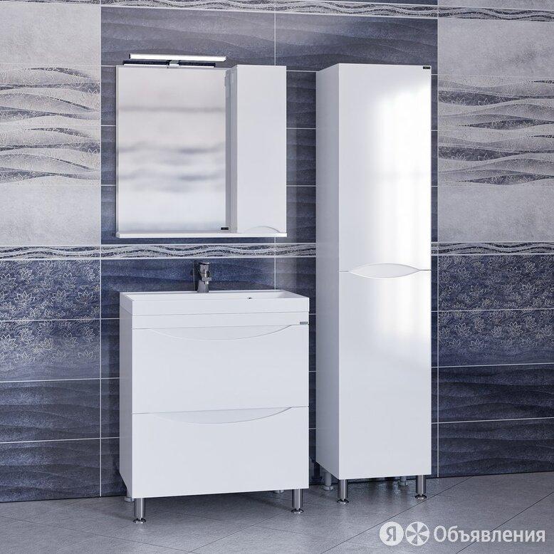 Мебель для ванной СанТа Сатурн 70 напольная по цене 37280₽ - Раковины, пьедесталы, фото 0