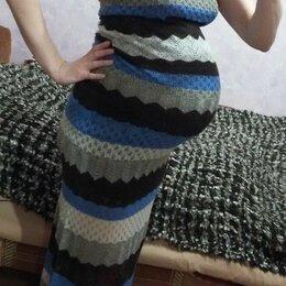 Платья - Стильное трикотажное платье для беременных 44 р-р, 0