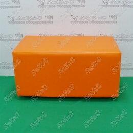 Пуфики - Банкетка прямоугольник 670х330х360мм, цвет оранжевый, BN-001 оранжевый, 0