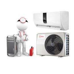 Ремонт и монтаж товаров - Тех обслуживание сплит-системы 09 модели внешний и внутренний блоки (бытовая ..., 0