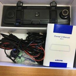 Видеорегистраторы - AZDOME 10 ''PG12 сенсорный экран 1080P Автомобильный видеорегистратор камера , 0