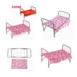 Аксессуары для кукол - FL983 Кровать для кукол, 0