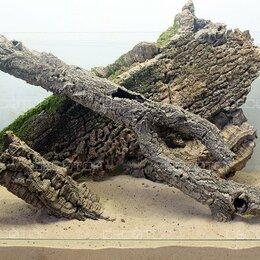 Декорации для аквариумов и террариумов - Кора пробкового дерева для рептилий, террариумов, 0