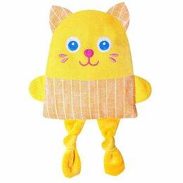Развивающие игрушки - Развивающая игрушка с вишнёвыми косточками 'Крошка Кот. Доктор мякиш', 0
