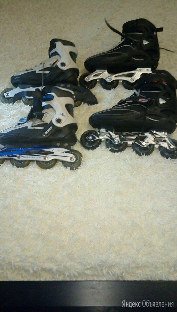 Роликовые коньки по цене 500₽ - Роликовые коньки, фото 0