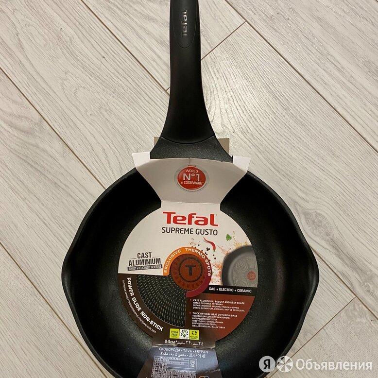 Сковорода Tefal Supreme gusto, 24 см, новая по цене 1700₽ - Сковороды и сотейники, фото 0