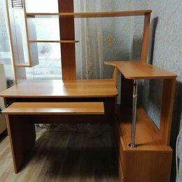 Компьютерные и письменные столы - Стол компьютерный ученический, 0
