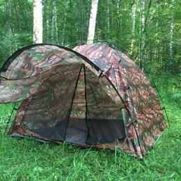 Палатки - Палатка 3 места с козырьком., 0