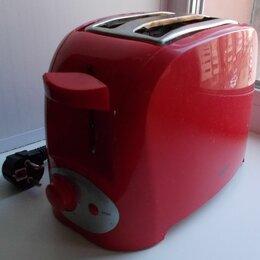 Тостеры -  Тостер красный DEXP TS-2000 неисправный. Б/у, 0