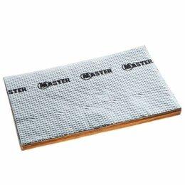 Изоляционные материалы - Мембрана виброшумоизоляционная stp вибропласт master 1,5х350х570 мм 1,76 кв.м, 0