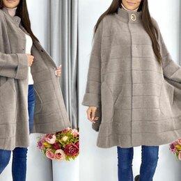 Пальто - Женское пальто альпака большого размера р-ры 48-64, 0