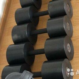 Аксессуары для силовых тренировок - Гантельный ряд, гантели 365кг. Произв-во и др.вес, 0