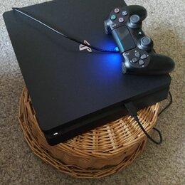 Игровые приставки - play station 4 slim, 0