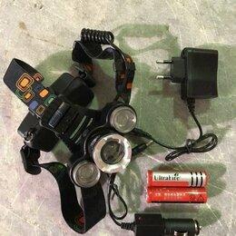 Аксессуары и комплектующие - Налобный фонарь Поиск P-1170 cree T6+ 2xQ5, 0