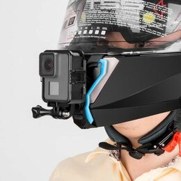 Мотоэкипировка - Крепление  на подбородок мотоциклетного шлема TELESIN, 0