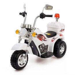 Электромобили - Детский электромобиль «Чоппер», цвет белый, 0