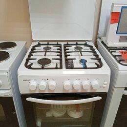 Плиты и варочные панели - Плита газо-электрическая Kraft kf-fsk 6405 aewi  новая, 0