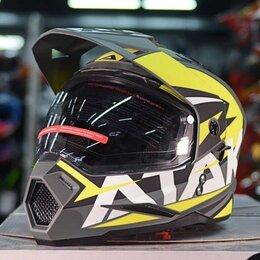 Мотоэкипировка - Кроссовый шлем Ataki jk802, 0