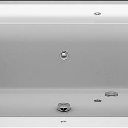 Гидромассажеры - Ванна акриловая Duravit Happy D2 1700х700х480 водный массаж, наклон слева 760..., 0