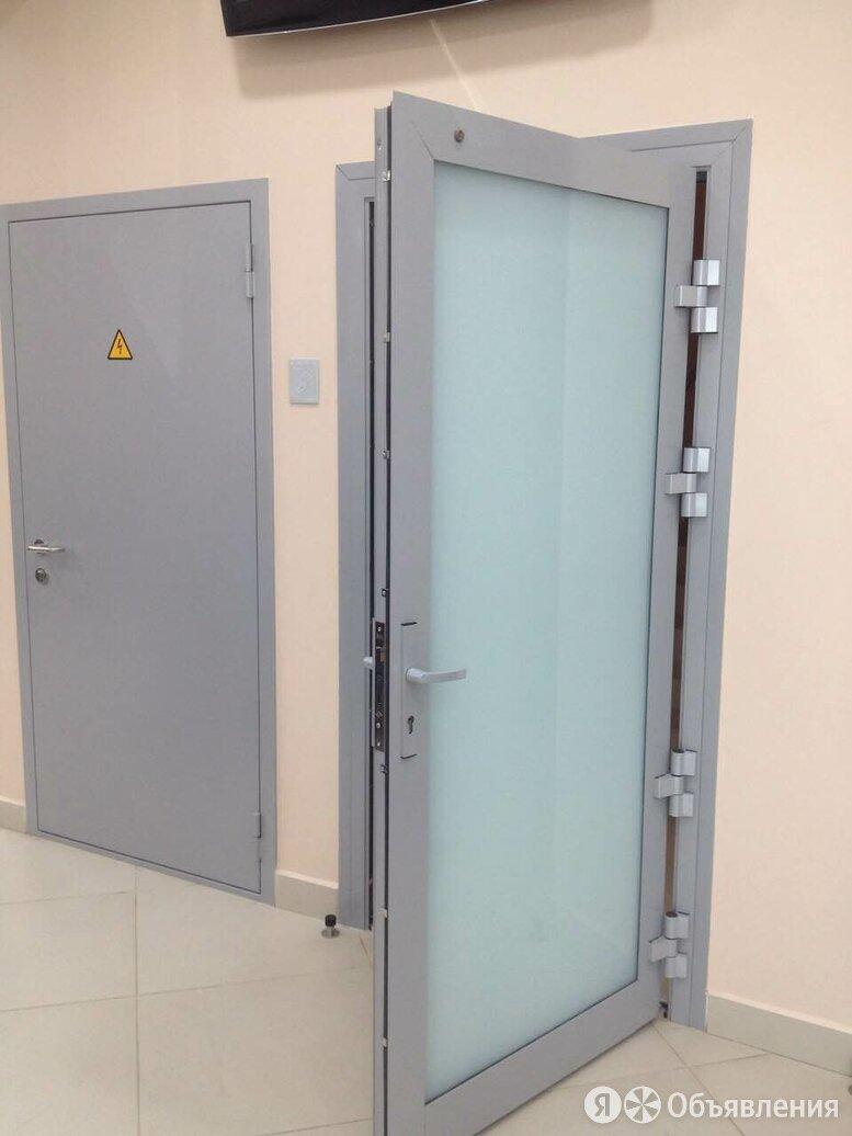 Алюминиевая дверь 1400x2000 мм. GFTD16208 по цене 19950₽ - Входные двери, фото 0